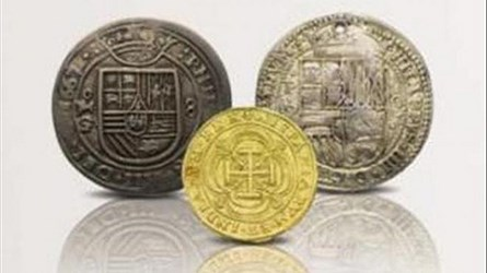 ANS SPANISH COINS ON DISPLAY IN NEW YORK