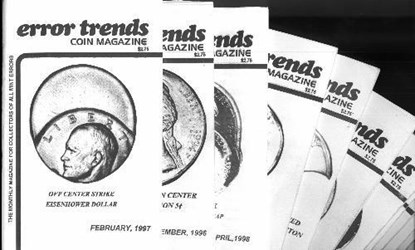 ERROR TRENDS COIN MAGAZINE CEASES PUBLICATION