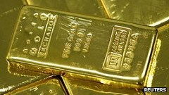 MYSTERY 'GOLD INGOTS' FOUND ON PARIS TRAIN