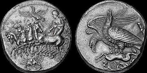QUERY: PEDIGREE OF THE DECADRACHM OF AKRAGAS