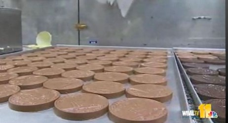 'STAR-SPANGLED BANNER' COINS IN CHOCOLATE