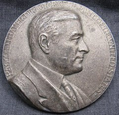 QUERY: MINT DIRECTOR RAYMOND T. BAKER MEDAL INFO SOUGHT