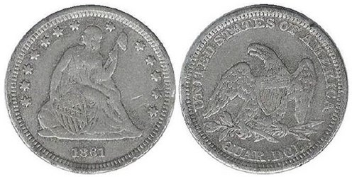 CONTEMPORARY COUNTERFEITS OF SEATED LIBERTY COINAGE