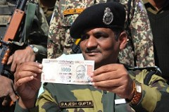 PAKISTANI GROUPS COUNTERFEITING INDIAN BANKNOTES