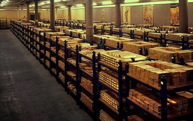 THE BANK OF ENGLAND'S GOLD STOCKPILE