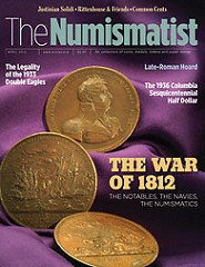 READ THE APRIL ISSUE OF THE NUMISMATIST ONLINE FREE