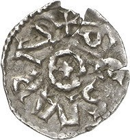 COINS OF CHARLEMAGNE AND THE POPES