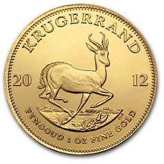 SOME SOUTH AFRICAN KRUGERRANDS FOUND TO BE UNDERWEIGHT