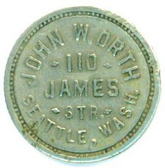 MORE ON THE JOHN ORTH 'BIT' DENOMINATION TOKENS