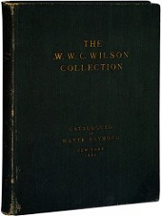 THE COLLECTION OF W.W.C. WILSON