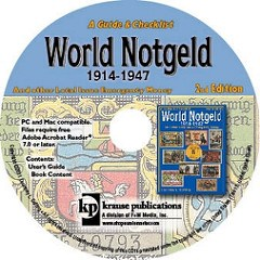 NEW BOOK: WORLD NOTGELD 1914-1947, 2ND EDITION