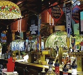 FERN BAR FOUNDER'S ORIGINAL TIFFANY LAMPS BEING SOLD