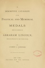 MORE ON THE SMITHSONIAN'S LINCOLN MEDAL
