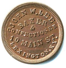 BOWERS OFFERS TANENBAUM CIVIL WAR TOKENS