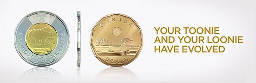 CANADA INTRODUCES NEW COIN TECHNOLOGY
