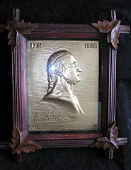 QUERY: DID LOUISE SPARROW SCULPT THIS WASHINGTON PLAQUE?