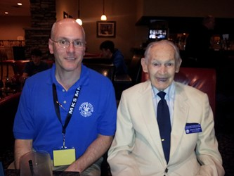 CENTENARIAN JIM CHARLTON ATTENDS ONTARIO CONVENTION