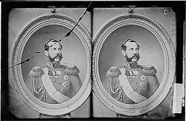 WHO IS THAT GENT WITH LINCOLN AND GRANT? ALEXANDER II
