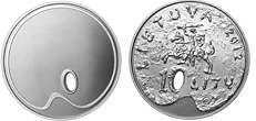 SOME NEW COIN DESIGNS: LITHUANIA AND SLOVAKIA