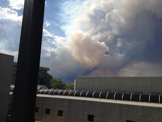 COLORADO SPRINGS FIRES AFFECT LOCAL AND VISITING NUMISMATISTS