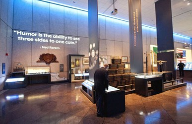 REVAMPED PHILADELPHIA MINT EXHIBIT AND TOUR OPENS