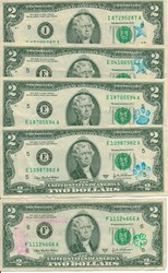 QUERY: OVERSTAMPS ON U.S. BANKNOTES