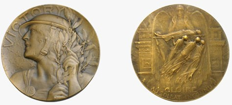 FEATURED WEB PAGE: MEDALLIC ART IN THE GREAT WAR
