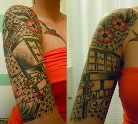 LIBRARIAN TATTOOS