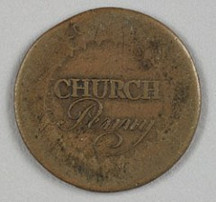 MORE ON THE ALBANY FIRST PRESBYTERIAN CHURCH'S PENNY