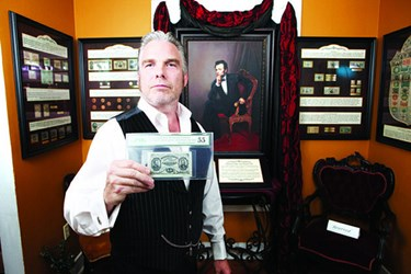 WESLEY SMITH'S TRAVELING FRACTIONAL CURRENCY EXHIBIT