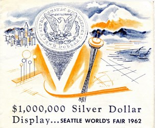 1962 SEATTLE WORLD'S FAIR DOLLAR DISPLAY BROCHURE