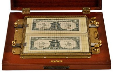 PORTER'S COUNTERFEIT CURRENCY DETECTOR