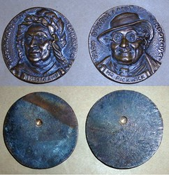 QUERY: DICKENS LAND LONDON 1941 MEDALS