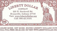 DO LIBERTY DOLLARS DESERVE TO BE BANNED?