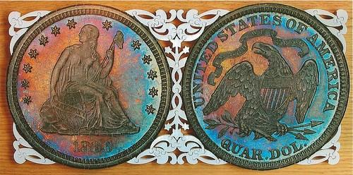 THE 1886 QUARTER DOLLAR PUZZLE