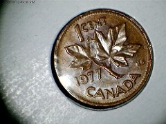 A CANADIAN CENT OVERSTRIKE ERROR