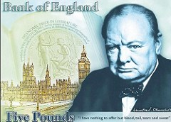 BANK OF ENGLAND TO ISSUE POLYMER BANKNOTE