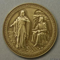 VATICAN MEDAL MISSPELLS NAME OF JESUS