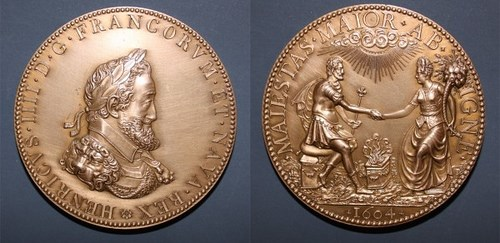 MORE ON THE 1604 HENRY IIII MEDAL
