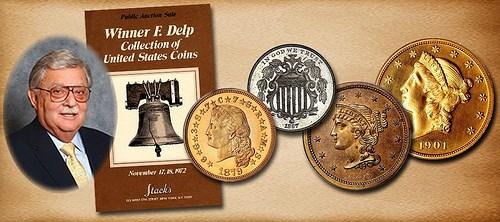 U.S. COIN COLLECTOR WINNER F. DELP
