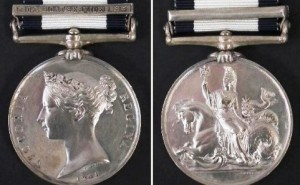 THE BRITISH NAVAL GENERAL SERVICE MEDAL