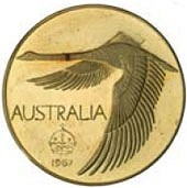AUSTRALIA'S FANTASY GOOSE DOLLAR COINS