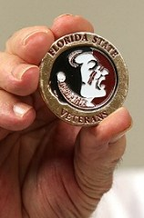 FLORIDA STATE UNIVERSITY CHALLENGE COINS