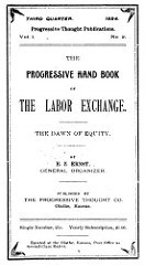 BOOKS ON THE PROGRESSIVE LABOR EXCHANGE MOVEMENT