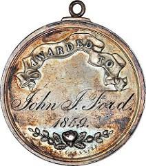 THE 1859 JOHN J. FORD BOSTON SCHOOL MEDAL