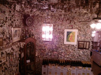 THE PRAGER WINERY MONEY ROOM