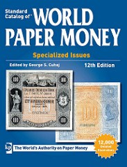 NEW BOOK: STANDARD CATALOG OF WORLD PAPER MONEY, 12TH ED