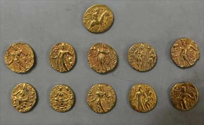 GUPTA-ERA GOLD COIN FIND MYSTERY