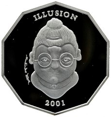OPTICAL ILLUSIONS ON COINS AND MEDALS