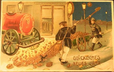 POSTCARDS AND NUMISMATICS: HAPPY NEW YEAR!